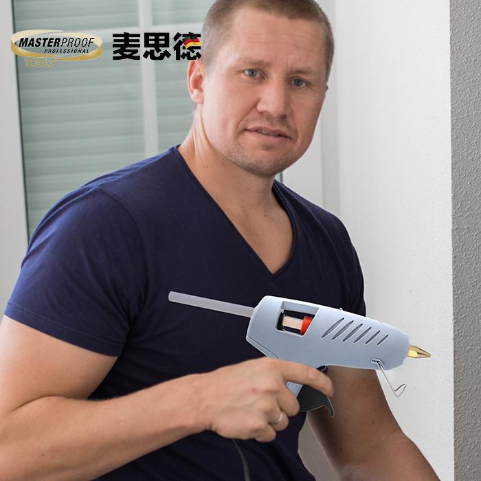 電熱熔膠槍多功能家用德國手工制作熱熔膠搶熱融膠條膠水槍11mm