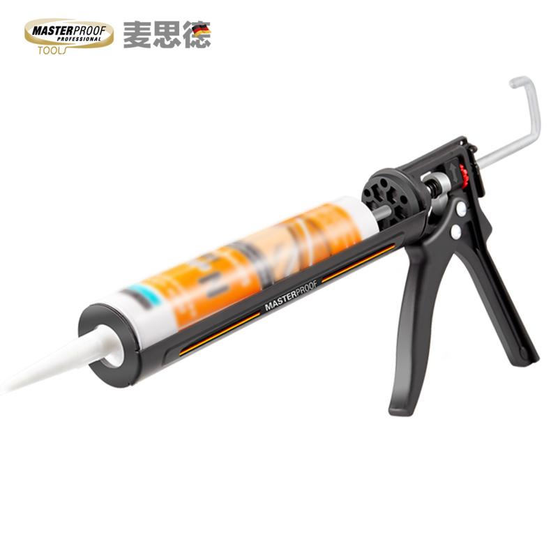 大行程玻璃膠槍自動斷膠硅膠槍家用手動美縫打膠槍結構膠槍壓膠槍